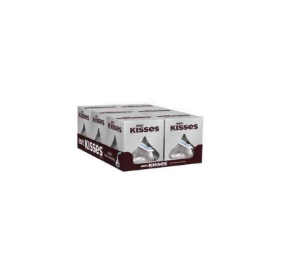 Hershey Kisses Silver 1.45oz. 6 count