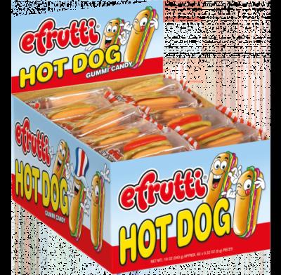 Gummi Hot Dog Minis 60ct