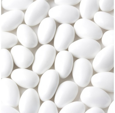 Jordan Almonds White 1lb.
