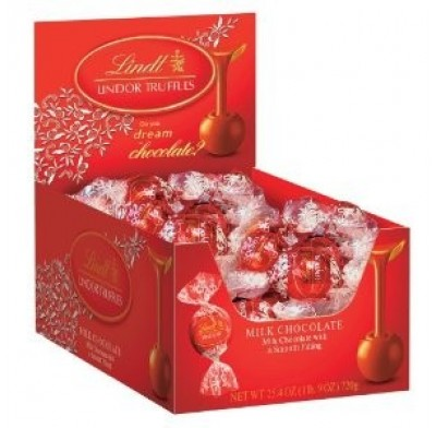 Lindt Lindor Truffles Changemaker 60ct. Milk Chocolate