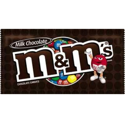 M&M MILK CHOCOLATE 48ct