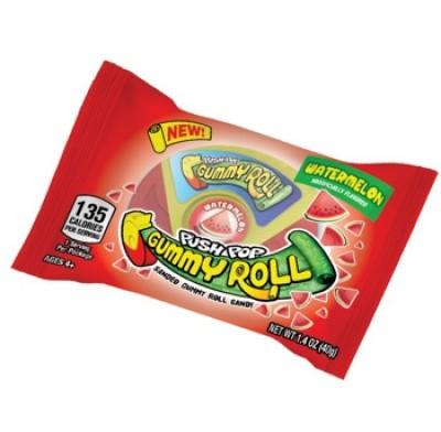 Push Pop Gummy Roll Asst 1.4oz 8ct