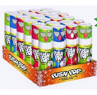 Push Pop  Christmas 24ct.