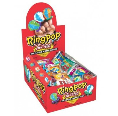 RING POPS TWISTED 24ct