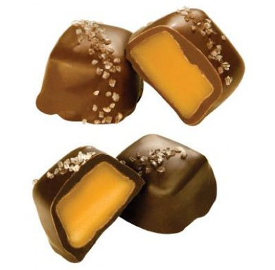 Vanilla Caramels With Sea Salt