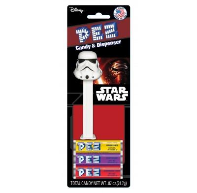 Pez Star Wars 12ct. Blister Card Display