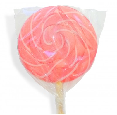 Color Splash Swirly Pops Baby Pink 1.5oz 12ct