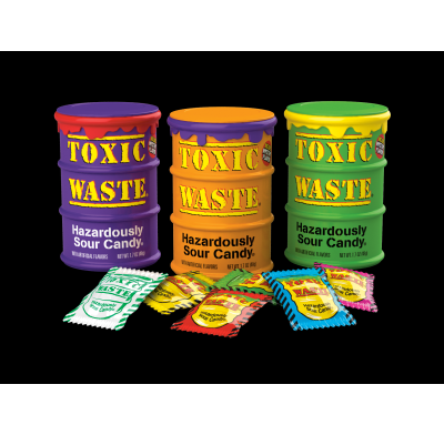 Toxic Waste Colored Drums 12ct
