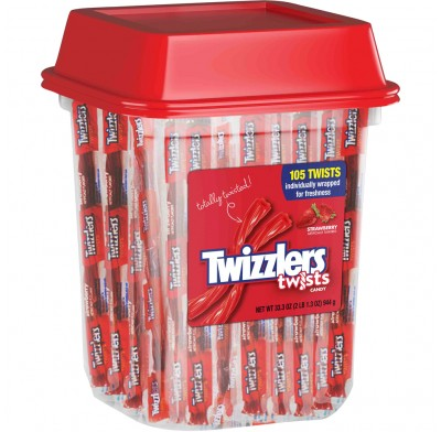 Twizzler Strawberry Indiv. Wrapped 105ct