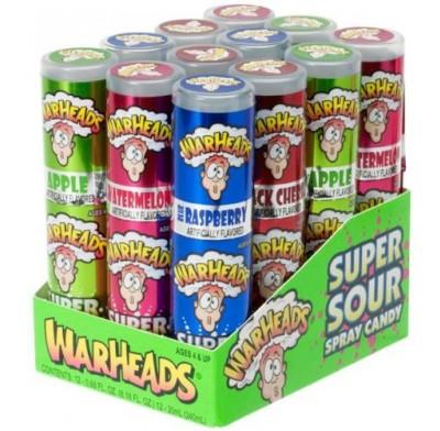 Warheads Spray 12ct
