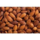 Almonds Roasted Salted 1 lb. Bag