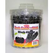 Rock Candy on a Stick 36ct. Tub Black (Black Cherry Flavor)