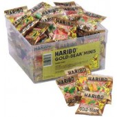 HARIBO GOLD BEARS MINI BAGS 72ct