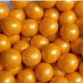 """Gumballs Pearl Gold 1/2"""" 2lbs."""