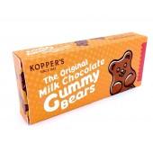 Milk Chocolate Covered Gummy Bears Movie Theater Box 2.5oz.
