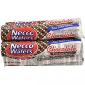 NECCO WAFERS CHOCOLATE 24ct.