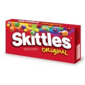SKITTLES 4oz. MOVIE THEATER BOX