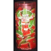 Sour Watermelon Slices 18oz. Canister