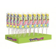 PEEPS CHICKS 4pc. RAINBOW POP 28ct.