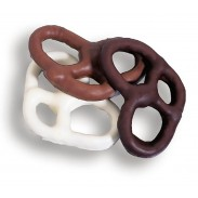 Asher Pretzels Large Chocolate Covered (All 3 Ring)
