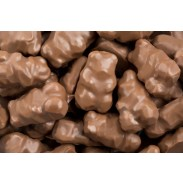 Gummy Bears Covered In Milk Chocolate
