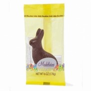 *Madelaine Sitting Rabbits Milk Chocolate 6oz.