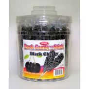 Rock Candy on a Stick 36ct. Tub Black (Black Cherry Flavor)
