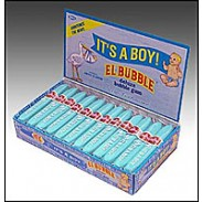 IT'S A BOY BUBBLE GUM CIGARS