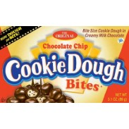 COOKIE DOUGH BITES CHOCOLATE CHIP 3.1oz.MOVIE THEATER BOX