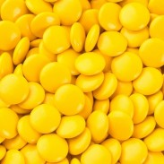 Chocolate Buttons (Gems) Milk Chocolate Yellow