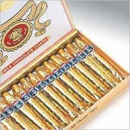 CIGARS CHOCOLATE GOLD FOIL WRAPPED