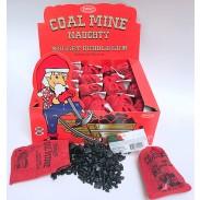 "Coal Mine ""Naughty"" Nugget Bubble Gum 24ct."