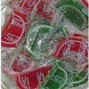 FRUIT SLICES RED & GREEN