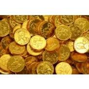 GOLD COINSQUARTER SIZE
