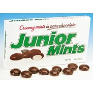 JUNIOR MINTS 4oz. MOVIE THEATER BOX
