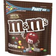 M&M MILK CHOCOLATE 56oz. BAG