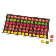 Marzipan Assorted Fruit Shapes 2lb Tray