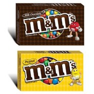 M&m Movie Theater Box 3.4oz.