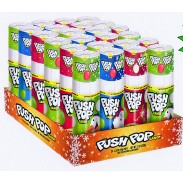 Push Pop  Christmas 24ct.