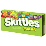 SKITTLES SOUR 3.6oz. MOVIE THEATER BOX