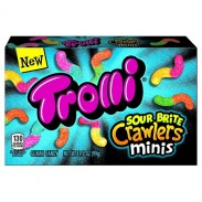 Trolli Sour Brite Crawlers Minis Movie Theater Box 3.5oz.