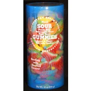 Sour Gummies 18oz. Canister
