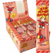 Sour Power Straws Strawberry 1.75oz 24ct
