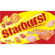 STARBURST ORIGINAL 4oz. MOVIE THEATER BOX