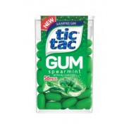 Tic Tac Gum Sugar-free Spearmint 12ct.