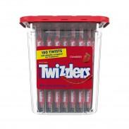Twizzlers Strawberry wrapped 180ct Jar