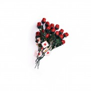 Madelaine Chocolate Sweetheart Roses .5oz. - 12 count